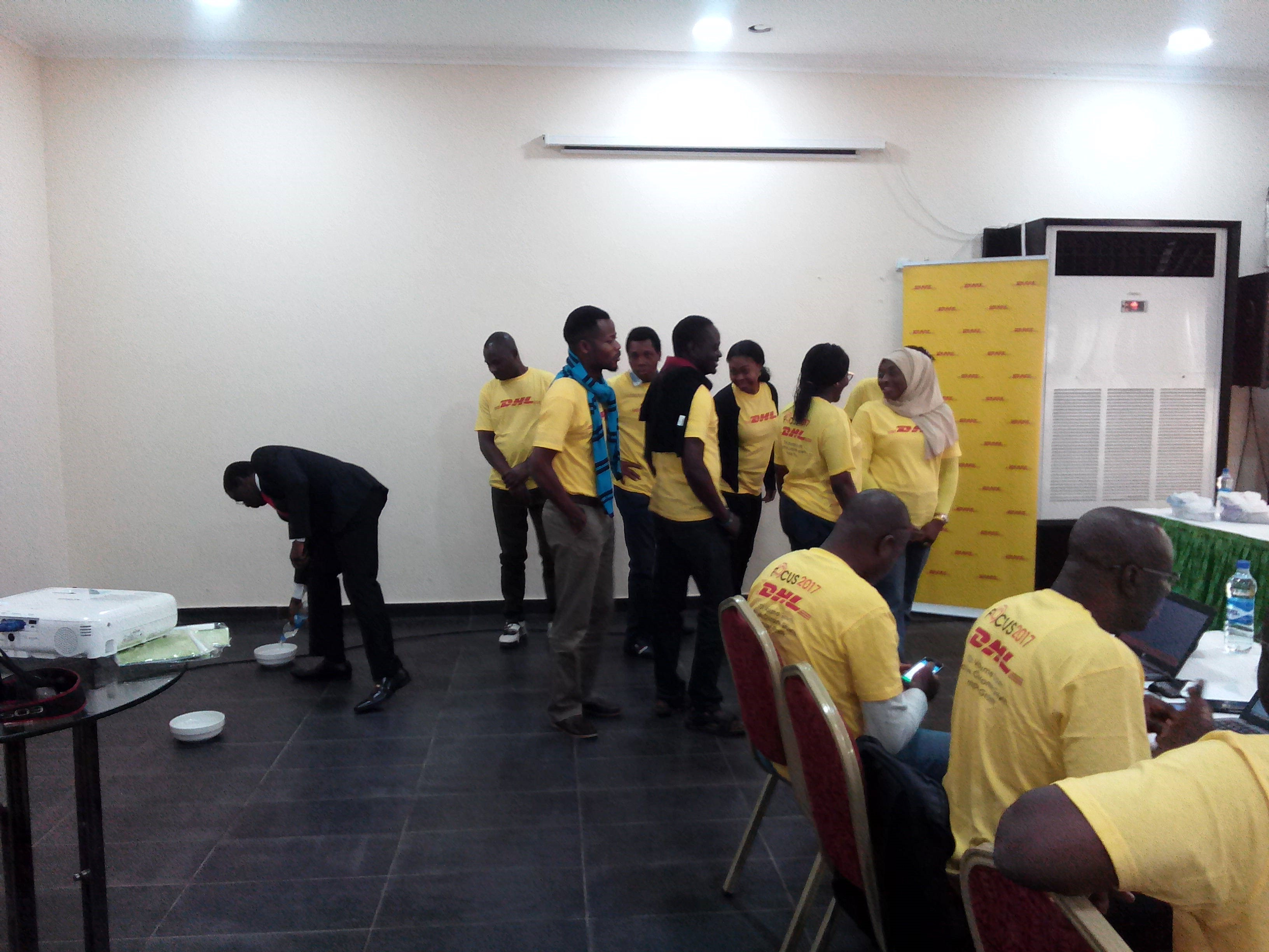 DHL Staff Training